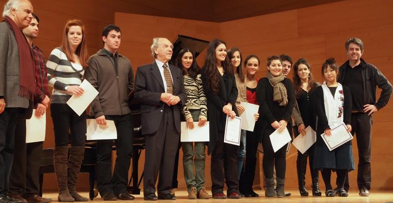 ceremony certificates 2012